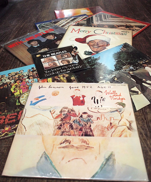 レコード盤 ビートルズ